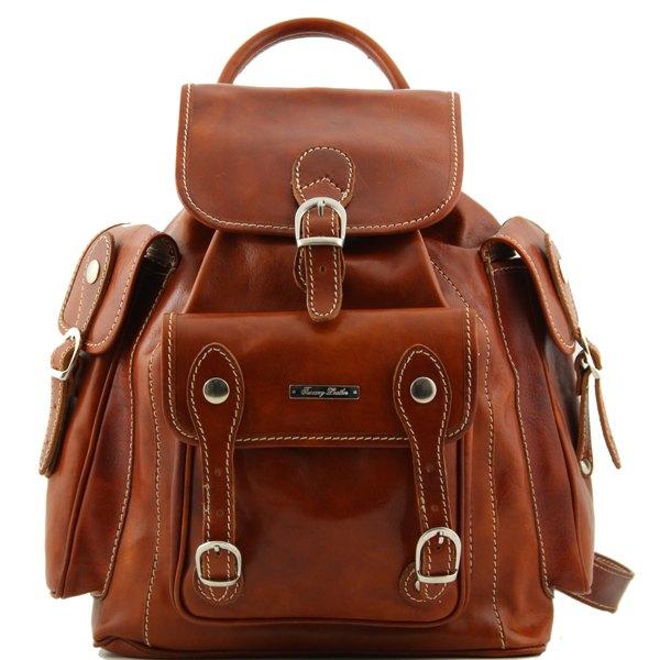 62c67af7c3 Sac a Dos Cuir Vintage Homme ou Femme -Tuscany Leather -