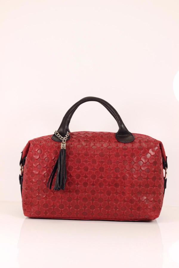 Grand Sac Bandoulière Cuir Femme : Grand sac bowling cuir avec bandouli?re pour femme lucy