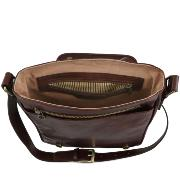 Sac Bandoulière Cuir Homme Marron - Tuscany Leather -