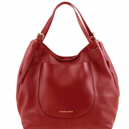 Sac leather Grand Cuir Besace Femme Tuscany dO8dvTqpwx