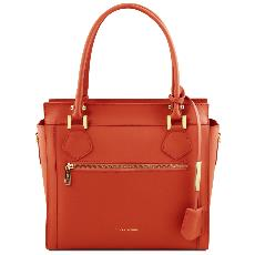 Sac Cuir Femme  Bandoulière Amovible - Tuscany Leather -