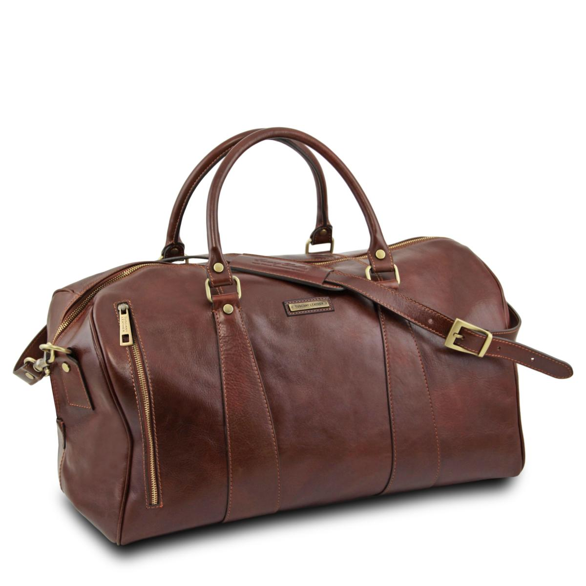 Voyage Sac Tuscany Leather Grand De Souple Cuir 6b7fvIYgy