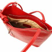 Sac à Dos Transformable Femme Cuir Rouge - Tuscany leather -