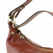 Sac Cuir Souple Epaule Femme Miel -Tuscany Leather -