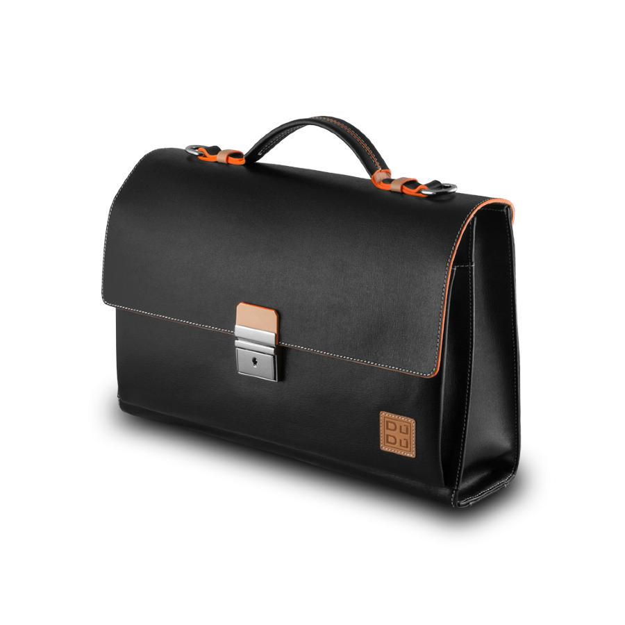 cartable cuir porte documents virgilio dudu bags. Black Bedroom Furniture Sets. Home Design Ideas
