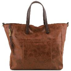 Grand Sac Cuir Vieilli Femme  - Tuscany Leather -