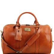 Sac de Voyage Cabine Avion Cuir Miel - Tuscany-Leather-