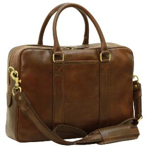 Sac Business Porte Ordinateur en Cuir -Old Angler-