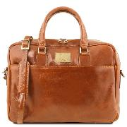 Sacoche Ordinateur Portable Cuir - Tuscany Leather -