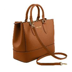 Sac Cuir Femme 2 Compartiments - Tuscany Leather -