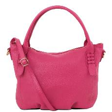 Sac Cuir Femme Rose - Tuscany Leather -