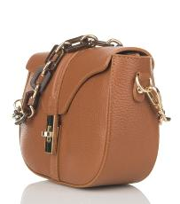 Sac Cuir Bandoulière Chaine Femme - First Lady Firenze -