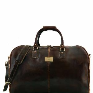 Sac de Voyage Housse Cuir Mat   -Tuscany Leather -