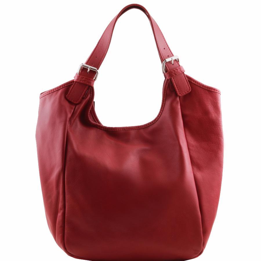 sac epaule fourre tout cabas cuir femme tuscany leather. Black Bedroom Furniture Sets. Home Design Ideas