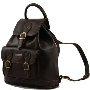 sac dos cuir vintage femme avec poches tuscany leather. Black Bedroom Furniture Sets. Home Design Ideas