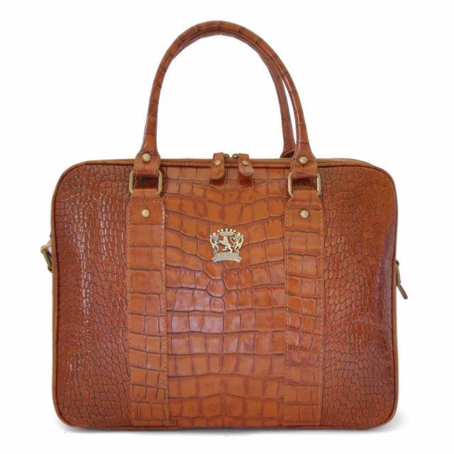 8246dcba99 Cartable Croco Vintage Femme - Pratesi -