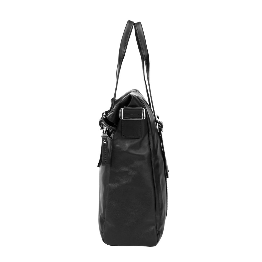 sac pour ordinateur portable cuir noir pour homme isak. Black Bedroom Furniture Sets. Home Design Ideas