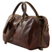 Sac de Voyage Cuir Marron - Tuscany Leather -