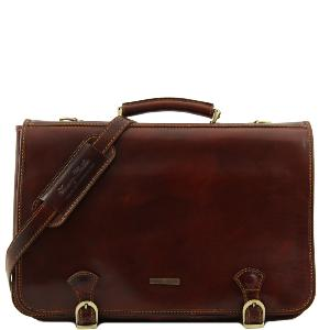 Serviette Homme Cuir -Tuscany Leather-