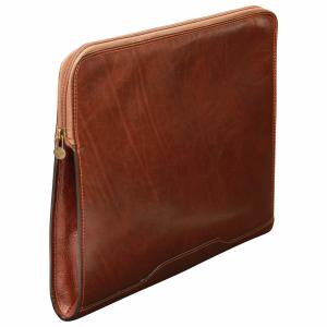 Porte document Cuir extra plat -Old Angler-