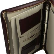 Conférencier Porte-Documents Cuir Marron -Tuscany Leather-