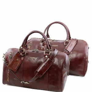 Ensemble de Voyage Cuir Marco Polo -Tuscany Leather-