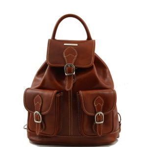 Sac a Dos Cuir Vintage pour Femme  -Tuscany Leather-