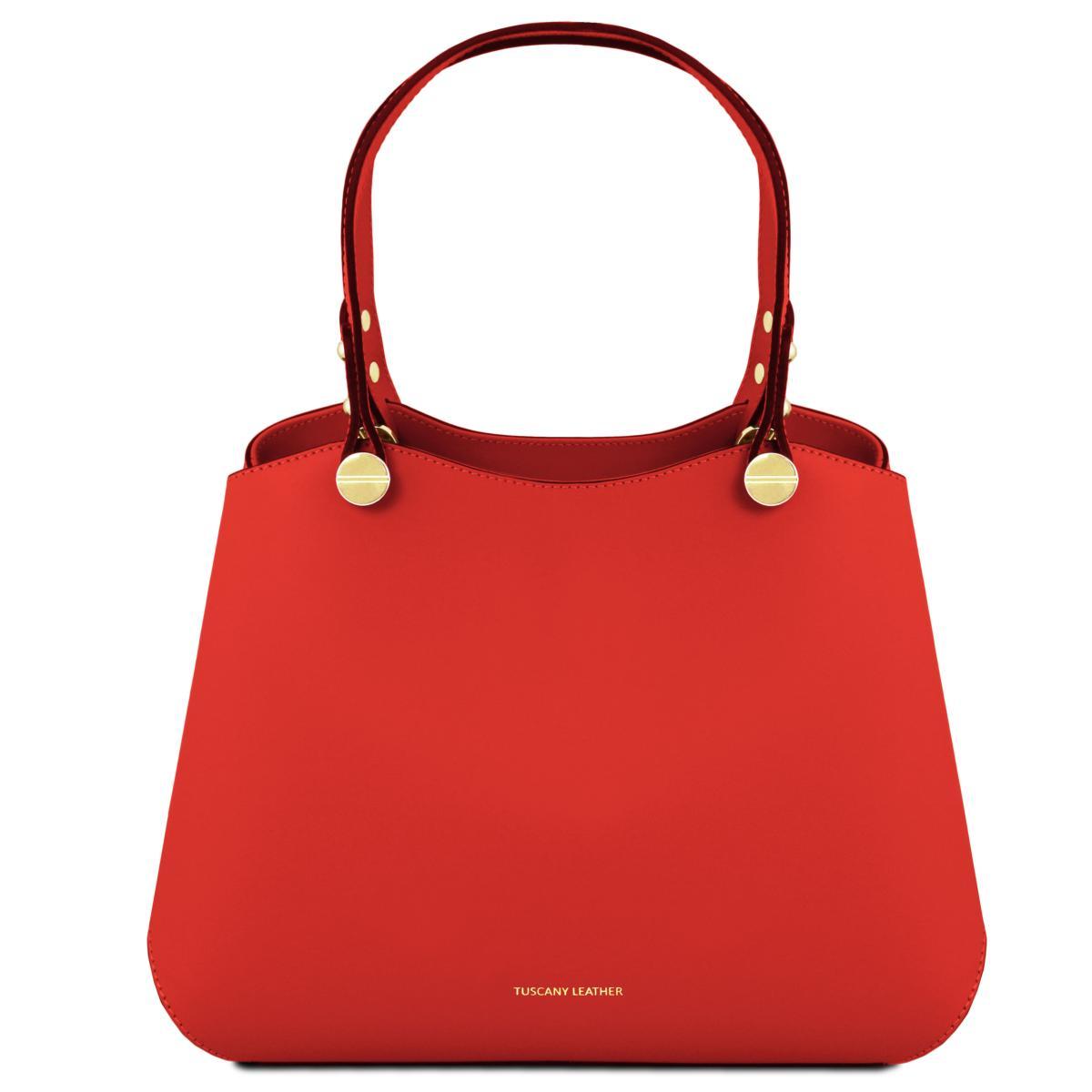 solde sac cuir femme 2 compartiments tuscany leather. Black Bedroom Furniture Sets. Home Design Ideas