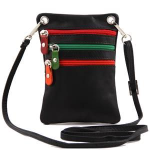 b6635fbc4c4f Petite Sacoche Bandoulière Cuir Pas Cher Homme ou Femme -Tuscany Leather-