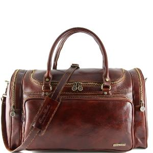 Sac de Voyage Cuir Italie Prague - Tuscany Leather -