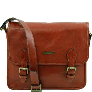 Sac Besace Vintage Cuir Homme ou Femme - Tuscany leather -