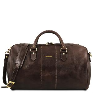 Grand Sac de Voyage Cuir Bandoulière Amovible - Tuscany Leather -