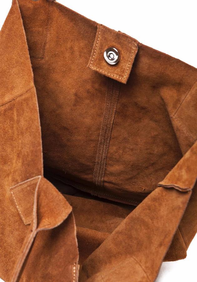 grand sac cabas pas cher en daim femme lucy. Black Bedroom Furniture Sets. Home Design Ideas