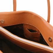 Sac Cuir Femme 3 Compartiments  - Tuscany Leather -
