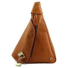 Petit Sac à Dos Cuir Femme Marron  -Tuscany Leather -