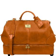 Sac Voyage Cuir Roulettes - Tuscany Leather -