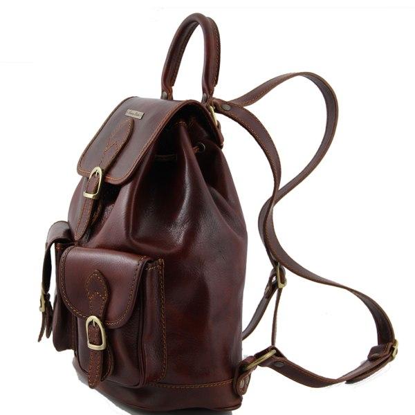 sac a dos cuir retro homme ou femme tuscany leather. Black Bedroom Furniture Sets. Home Design Ideas