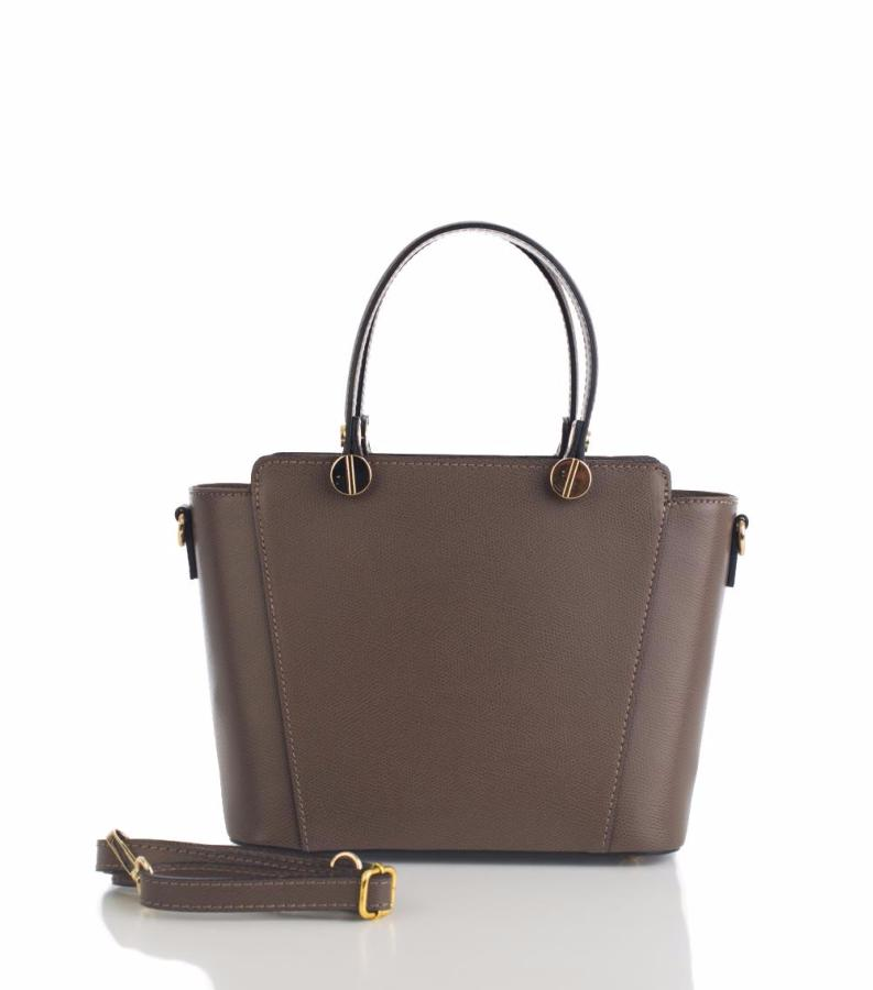 Sac main cuir femme 2 compartiments first lady firenze for Code couleur taupe