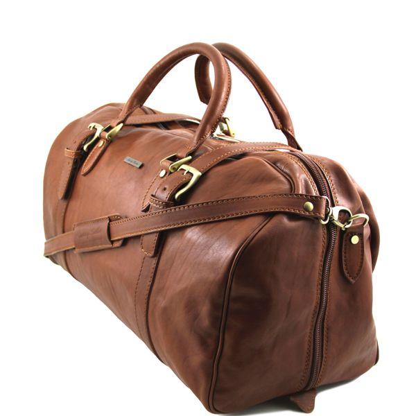 sac de voyage cuir avec boucles anastasio tuscany leather. Black Bedroom Furniture Sets. Home Design Ideas