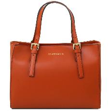 Sac Cuir Cabas Femme - Tuscany Leather -