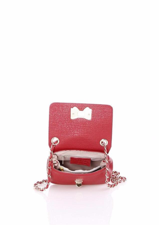 Petit sac cuir bandouli re avec chainette pour femme lucy - Petit tabouret pas cher ...