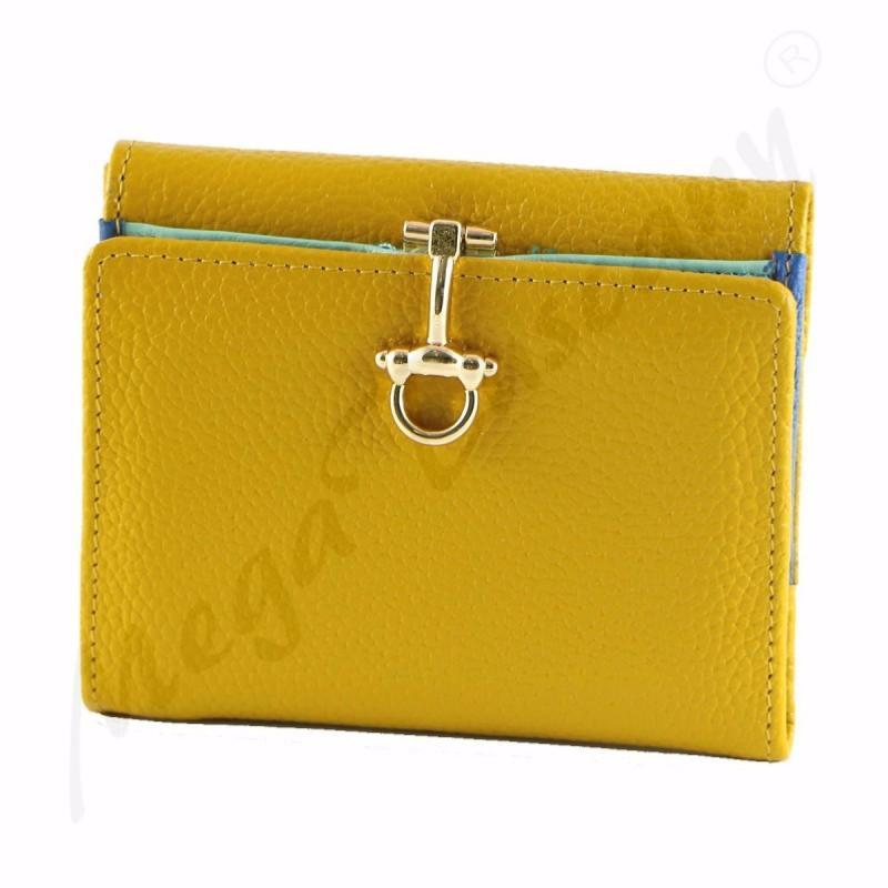 design de qualité a3150 cf623 Portefeuille Cuir Pas Cher Jaune pour Femme