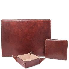 Premier Office Set en Cuir - Tuscany Leather -