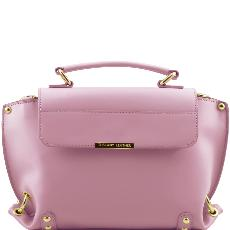 Sac Cuir Femme Style Cartable Rose - Tuscany Leather -