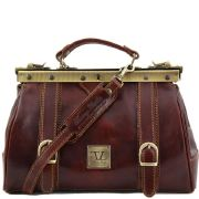 Sac Cuir Vintage Marron Femme - Tuscany Leather -
