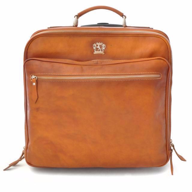 valise cuir vintage roulettes borsone di viaggio ancienne pratesi. Black Bedroom Furniture Sets. Home Design Ideas