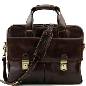 Sac Business Ordinateur Cuir Reggio Emilia - Tuscany Leather -