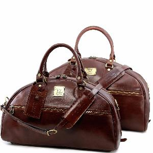 Ensemble Voyage Cuir Homme Femme - Tuscany Leather -