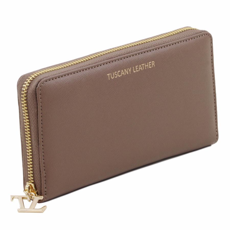 promo portefeuille femme cuir 2 compartiments tuscany leather. Black Bedroom Furniture Sets. Home Design Ideas