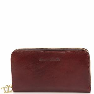 Compagnon Tuscany Cuir Leather Portefeuille Femme Yf6g7vby